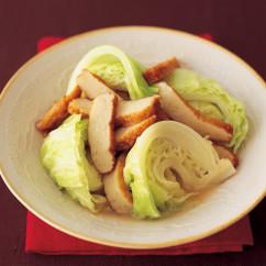 キャベツとさつま揚げの中華風煮もの