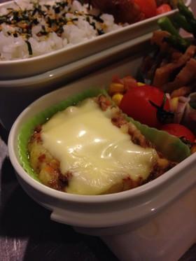 お弁当にチーズ肉じゃが♫冷凍可