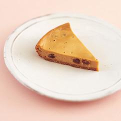黒糖レーズンチーズケーキ
