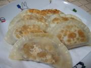納豆チーズの包み焼揚げ★餃子の写真