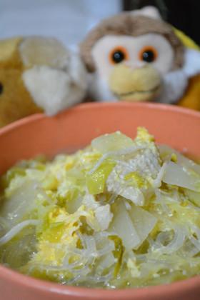 *鶏とキャベツの春雨ダイエットスープ*