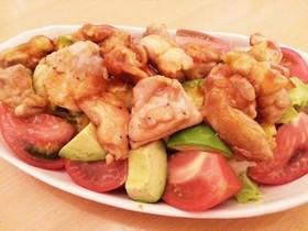 簡単!アジアン鶏の甘辛サラダ
