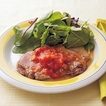 ポークソテー簡単トマトソース