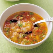 ビーンズトマトスープ