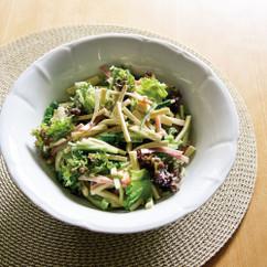 高野豆腐とハムのサラダ