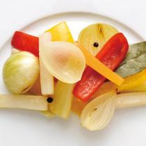 野菜の蒸し煮サラダ