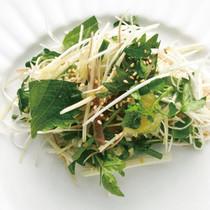 香味野菜の元気サラダ