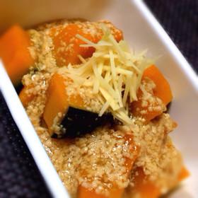 かぼちゃの煮物★鶏そぼろあん