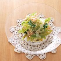 ふきと玉ねぎのサラダ