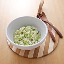 白菜としょうがのライスサラダ