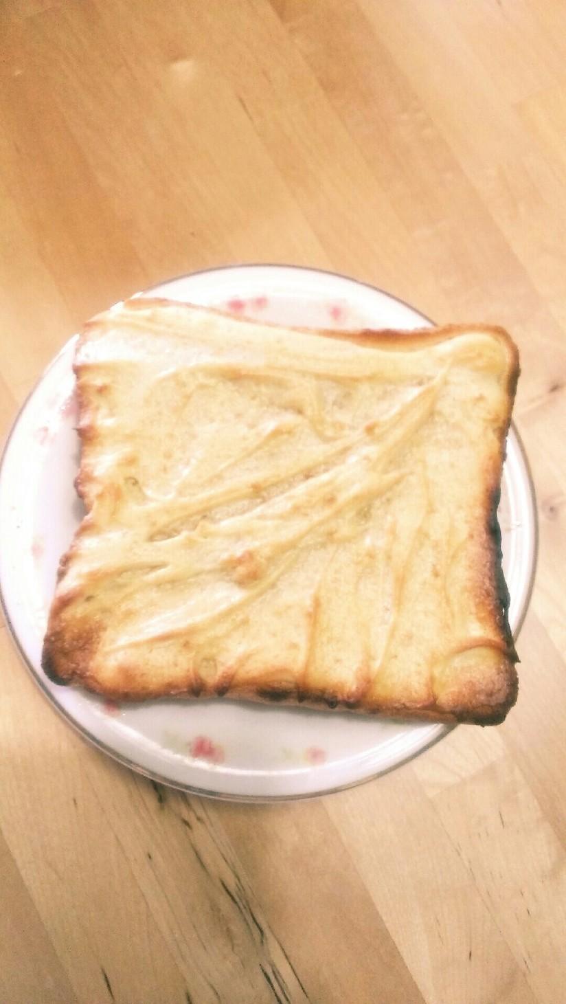 バターなしで。メロンパントースト