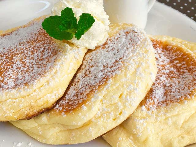 メレンゲ♡ふわしゅわパンケーキ