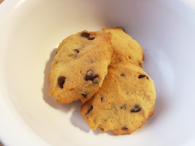 簡単!サクサクチョコチップクッキー