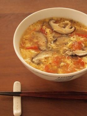 サッポロ一番で♪トマトスーラータン麺