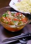 簡単☆河内晩柑とトマトの冷やしつけ麺