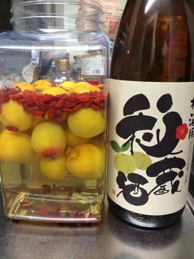 完熟南高梅で簡単☆秘蔵酒で滋養梅酒