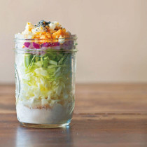 キャベツのツナごまサラダ