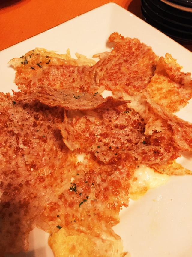 ホットプレートパーティ1☆ チーズ煎餅