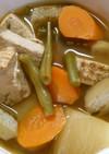 簡単 和食! 根菜と 焼き豆腐の煮物♪