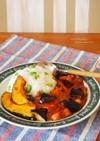 枝豆ご飯と夏野菜のトマトチキンカレー
