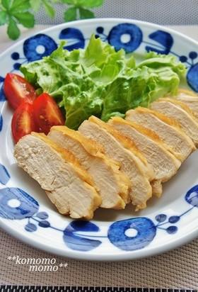 レンジで簡単!鶏むね肉の鶏チャーシュー風