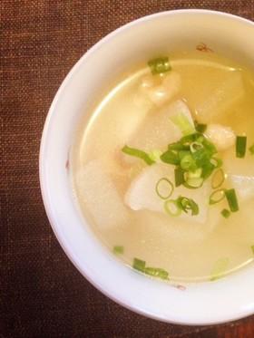 台湾の定番!大根スープ(蘿蔔湯)