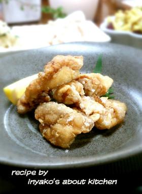 激しく簡単時短味付け手抜き鶏の唐揚げ