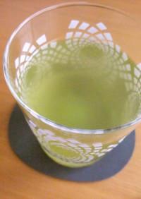 おいしい水で作る水だし緑茶♪