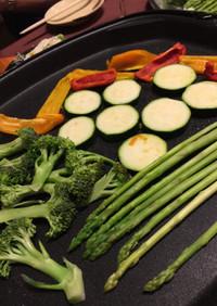 ホットプレート☆焼くだけで旨い野菜裏ワザ