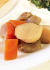 子供の好きな里芋・人参・蒟蒻の煮物