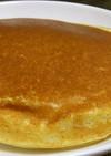チーズケーキ風味のパンケーキ