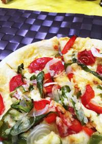 野菜の旨みをとことん味わうピザ