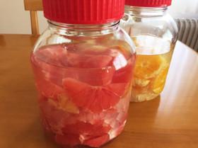 果実酒♡グレープフルーツ酒
