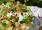 農園レシピ・お揚げの梅納豆サラダ♪