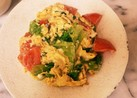 ☆トマトとレタスの卵炒め