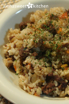 コストコのプルコギビーフでプルコギ炒飯