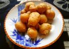 小さいジャガ芋の甘味噌炒め