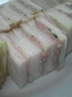 すんごく美味しい☆コンビーフサンドイッチ