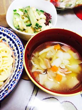 超簡単ですぐ出来る野菜スープ!