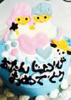 簡単☆キキララ アイスケーキ