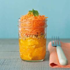 オレンジとにんじんのラペ