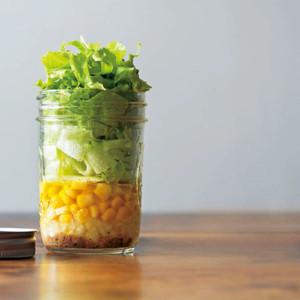アンチョビとレタスのサラダ
