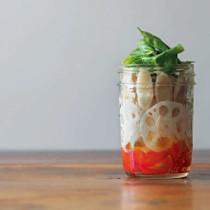 根菜のバジルサラダ
