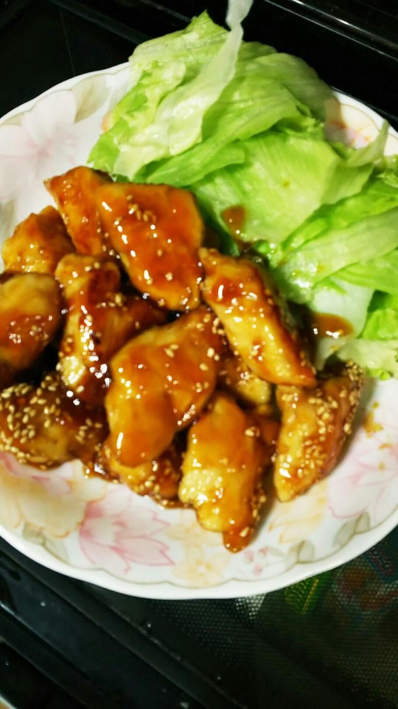 お弁当や晩ごはんに!鶏ささみの照り焼き
