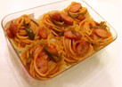 お弁当☆冷凍可のナポリタンスパゲッティ