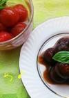 プチトマトの前菜2種♪