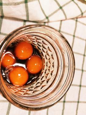 簡単☆熟成冷凍卵アレンジ醤油漬け