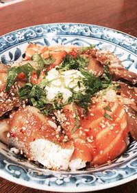 海鮮丼 韓国風