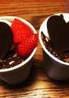カップチョコシフォンケーキ