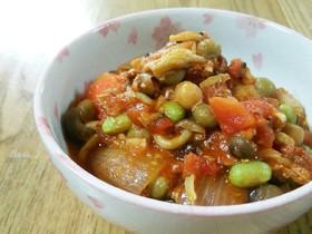 サバ缶のトマト煮